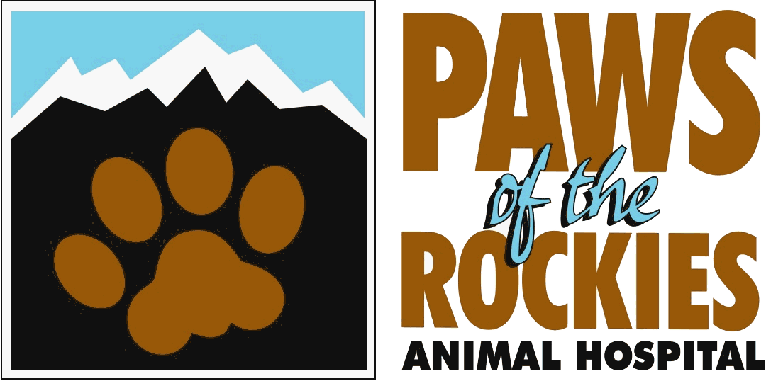 Paws of the Rockies Animal Hospital logo